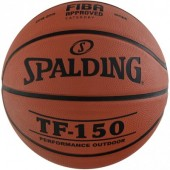 SPALDING TF 150 FIBA APPROVED, size 5, 7.